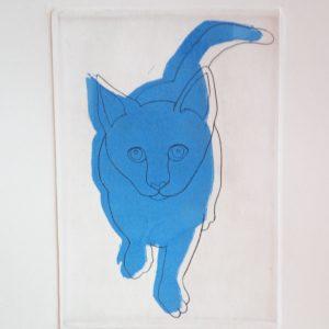 """gatto blu"""